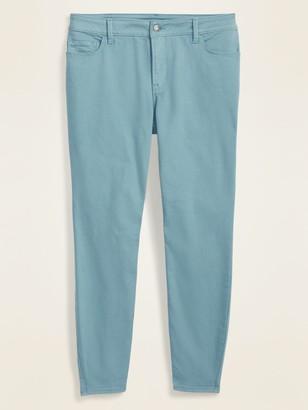 Old Navy High-Waisted Secret-Slim Pockets Plus-Size Rockstar Super Skinny Jeans