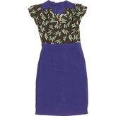 Miu Miu Blue Viscose Dress