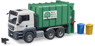Bruder MAN TGS Rear Loading Garbage Truck - Green