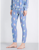 Wildfox Couture Reindeer jersey jogging bottoms
