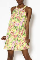 Umgee USA Yellow Floral Dress