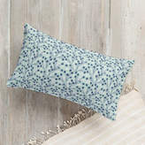Minted Vine and Berry Lumbar Pillow