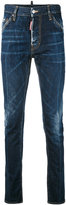 DSQUARED2 denim straight jeans - men - Cotton/Leather/Polyester - 44