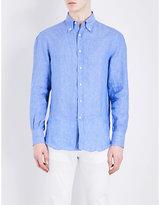 Brunello Cucinelli Button-down Pure Linen Shirt