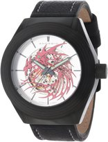Android Men's AD651BKR Tattooed Dragon Automatic Skeletonized Watch