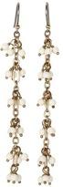 Lucky Brand Grapes Ear (Pearl Linear Beaded) Earring JLRU8478 (Gold) - Jewelry