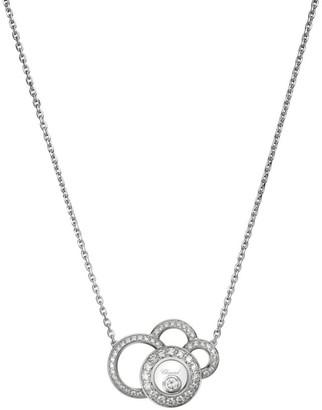 Chopard Happy Dreams Diamond & 18K White Gold Pendant Necklace