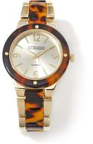 "RJ Graziano Madison"" Contrast Color Bracelet Watch"