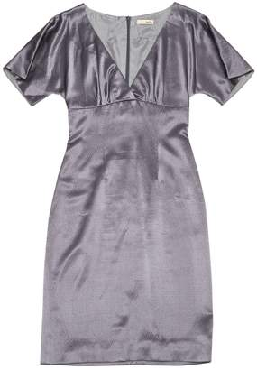 Freda Grey Wool Dress for Women