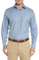 Peter Millar Men's Thunderhead Tartan Plaid Sport Shirt