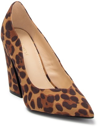 Nine West Havana Leopard Print Pump