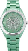 SO & CO So & Co Womens Green Bracelet Watch-Jp15892