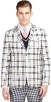 Brooks Brothers Large Plaid Sport Coat