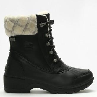 Sorel Whistler Mid Black & Natural Boots