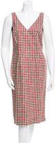 Ter Et Bantine Printed V-Neck Dress