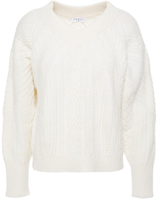 Claudie Pierlot Cable-knit Wool Sweater