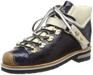 Melvin & Hamilton Mh Hand Made Shoes Of Class MH HAND MADE SHOES OF CLASS Women's Eliza 1 Ankle Boots Blau (Blue Vegas-Navy-Crock Strap Lining-Rich Insole Leather-Rp060navyv + White-Eva + Welt Natural-Sockskrichc Tan) 5.5 UK