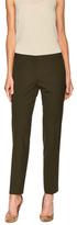 Lafayette 148 New York Stretch Wool Modern Slim Pant
