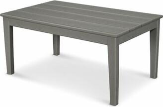 Polywood Newport Plastic Coffee Table Color: Slate Gray