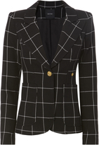 Smythe Windowpane Dutchess Blazer
