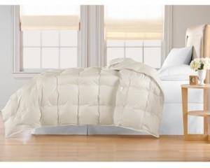 Blue Ridge Oversized White Goose Down Comforter, King