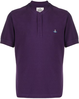 Vivienne Westwood Collarless Polo Shirt