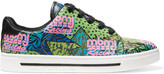 Marc by Marc Jacobs Printed leather sneakers
