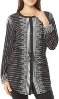 Peter Nygard Printed Front Detail Tunic