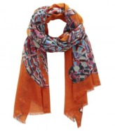 Margaret Elizabeth - Etole Omar Scarf In Orange