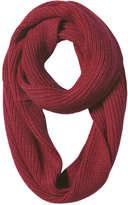 Joe Fresh Women's Shaker Knit Circle Scarf, Dark Green (Size O/S)
