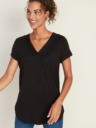 Old Navy Loose Luxe V-Neck Tunic Tee for Women