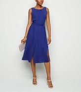 New Look Bright Double Split Dress
