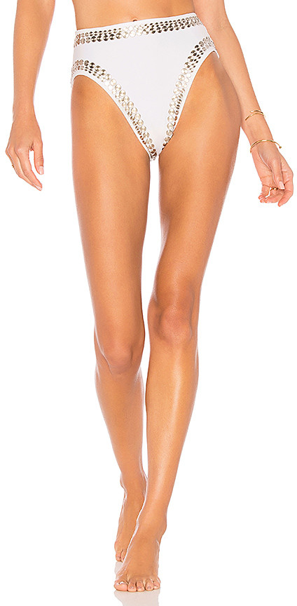 Norma Kamali Stud Underwire Bikini Bottom