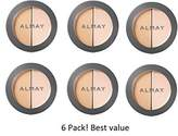Almay (pack of 6 Smart Shade CC Concealer + Brightener, 200 Light/Medium, 0.12 oz by