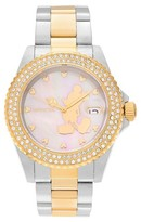 Invicta Women's 22729 Mother of Pearl Dial Link Bracelet Watch - Two Tone