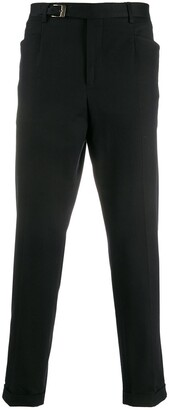 Dolce & Gabbana Buckle Detail Tailored Trousers