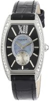 Akribos XXIV Women's AKR471BK Lady Diamond Collection Diamond Swiss Quartz Watch