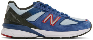 New Balance Blue Made In US 990v5 Sneakers