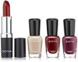 Zoya Nail Polish, Rosy Cheeks Lips & Tips Quad, 1 fl. oz.