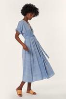 Mara Hoffman Midi Wrap Dress