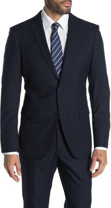 John Varvatos Bedford Blue Two Button Notch Lapel Suit Separates Jacket