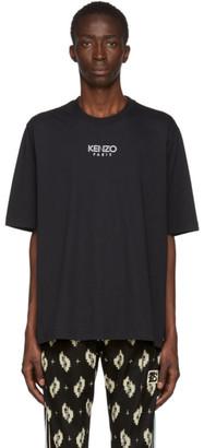 Kenzo Black Logo Sports T-Shirt