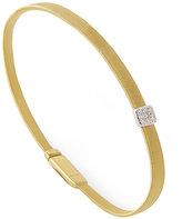 Marco Bicego 18ct Yellow Gold Masai 7pt Diamond Bangle