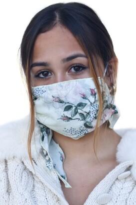 Mali & Lili Adult Four Layer Adult Mask Scarf
