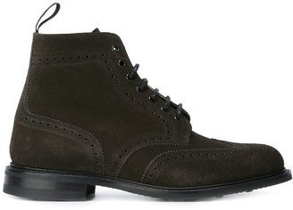 Church's Brogue Detail Lace-Up Boots