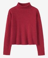 Toast Soft Merino Roll Neck Sweater