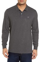 Vineyard Vines Men's Long Sleeve Polo