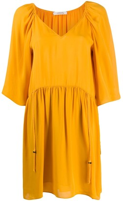 Dorothee Schumacher Gathered Swing Dress