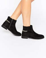 Asos ACER Chain Ankle Boots