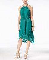 Thalia Sodi Laser-Cutout High-Low Dress, Only at Macy's